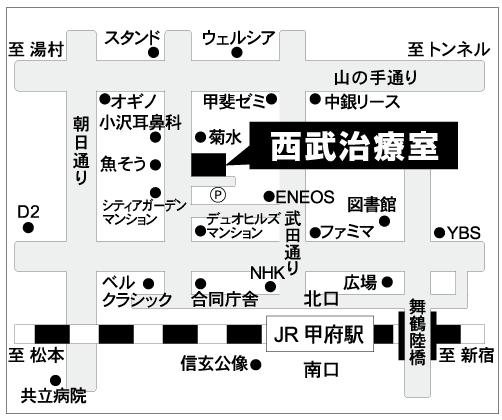 seibu-kofu map